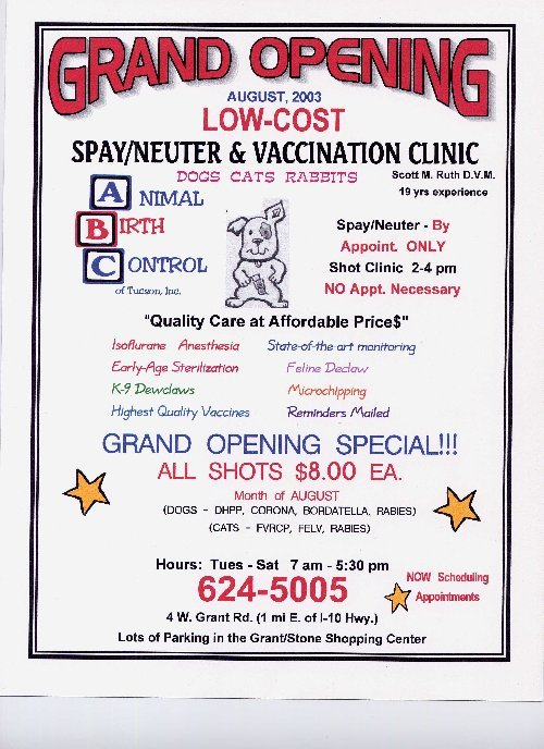 Arizona Spay and Neuter Clinic